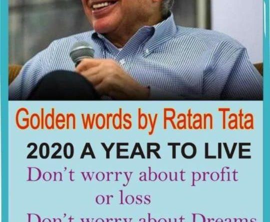 Golden words by ratan tata fact check